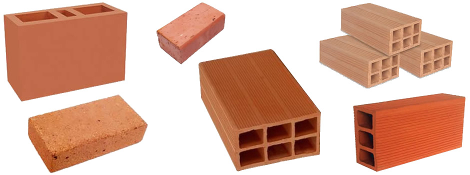 El ladrillo el elemento b sico de la construcci n a la - Tipos de ladrillos ...