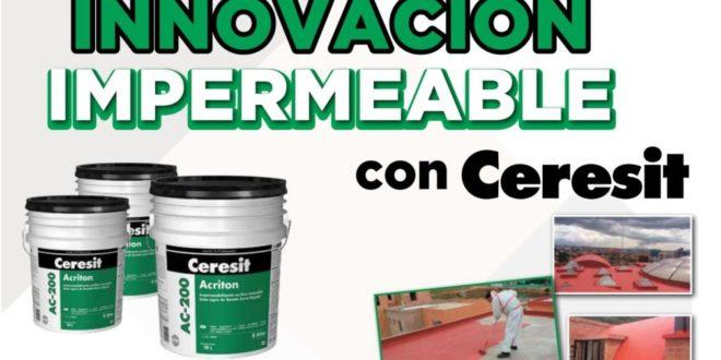 Innovacion impermeable con CERESIT