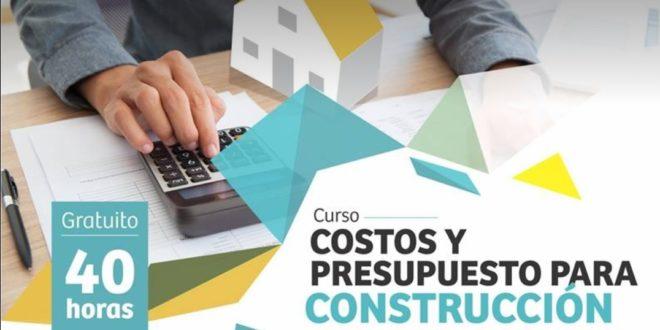 Curso Costos y Presupuesto para Construcción ¡No se lo pierda!
