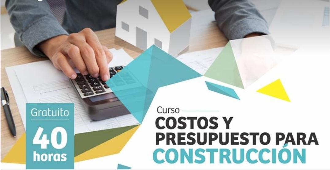 curso costos y presupuesto para construcción no se lo pierda a