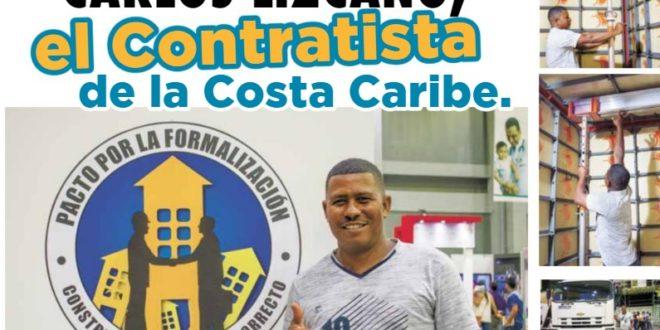 Carlos Lizcano el contratista de la Costa Caribe