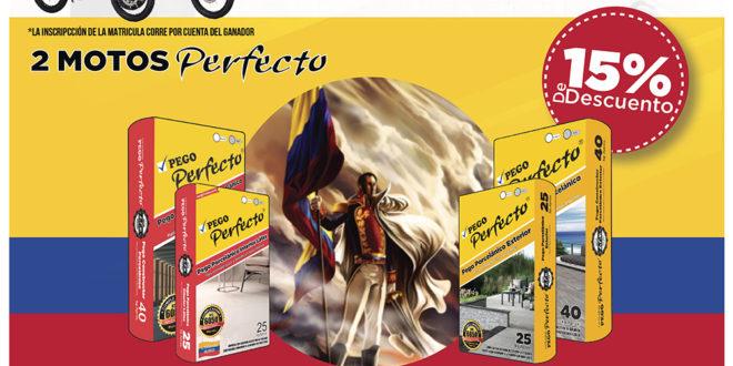 Pégate al patriotismo porcelánico con Pego Perfecto