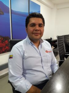 Ingeniero Rivera Gerente PWHT - I&D de Ferrotérmicos