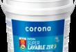 Pintura súper lavable zero de Corona