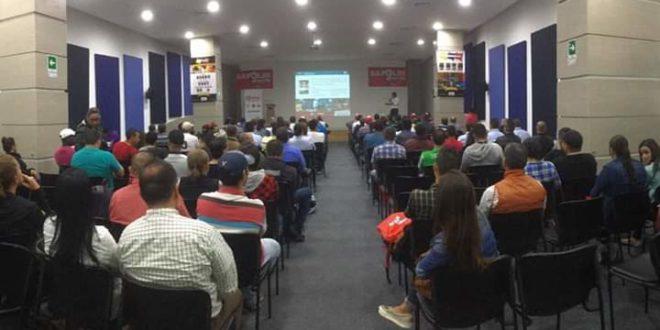 Próximas capacitaciones de Sapolin en Colombia