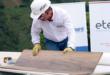 Instalación de entrepiso de con placas de cemento  Superboard®