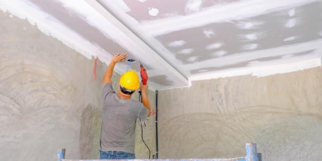 ¿Cómo se hace un cielo raso Drywall?