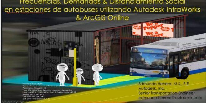 InfraWorks es un aliado en el diseño del tránsito de las personas en espacios compartidos