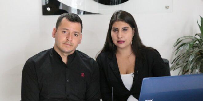 María Fernanda Melo y Robert Delgado, esposos y empresarios del mueble y la madera