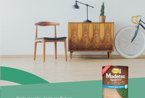 Con Madetec Aqua Eco proteges la madera más fácil y rápido