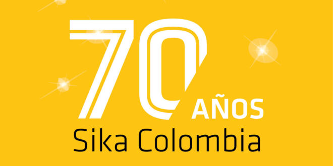 Sika Colombia cumple 70 años